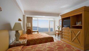Quarto duplo com vista para o mar. Hotel Krystal Beach Acapulco Acapulco