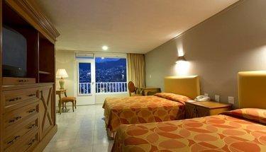 Quarto duplo Hotel Krystal Beach Acapulco Acapulco