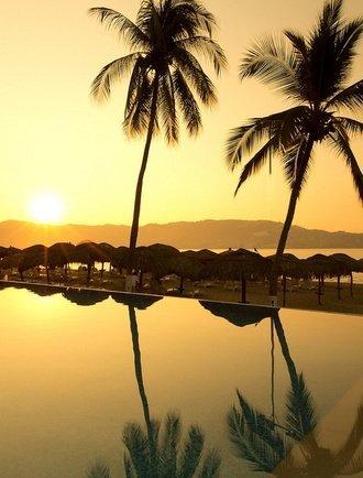 Piscina Hotel Krystal Beach Acapulco Acapulco