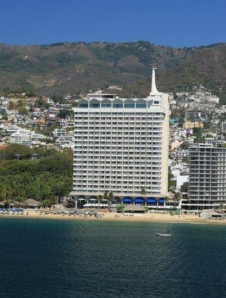 Fachada Hotel Krystal Beach Acapulco Acapulco