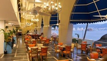 Restaurante Aquamarina Hotel Krystal Beach Acapulco Acapulco